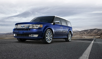 ford flex 2012 le confort avant tout. Black Bedroom Furniture Sets. Home Design Ideas